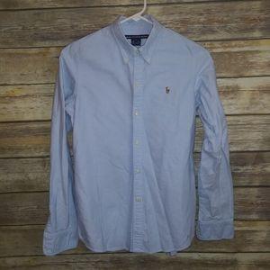Ralph Lauren Sport Slim Fit Chambray Button Shirt